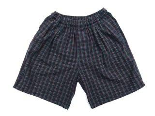 COMFORTABLE REASON [コンフォータブル リーズン] Pile Pocket 2tuck Lounge Shorts/Peacock
