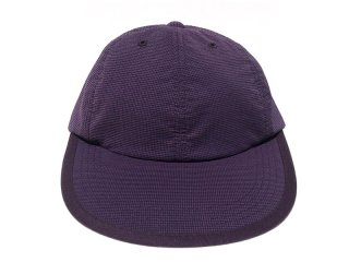 COMFORTABLE REASON [コンフォータブル リーズン] Checker Leisure Cap/PURPLE