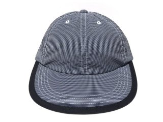 COMFORTABLE REASON [コンフォータブル リーズン] Checker Leisure Cap/BLACK