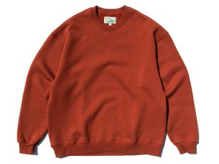 SUNDAYS BEST [サンデイズ ベスト] CREW NECK SWEAT/TEXAS ORANGE