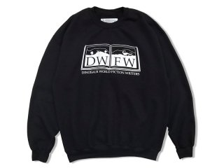 SUNDAYS BEST [サンデイズ ベスト] D.W.F.W. CREW NECK SWEAT/BLACK