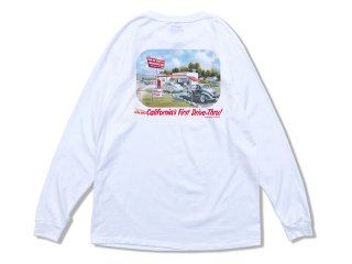 IN-N-OUT BURGER [インアンドアウト バーガー] 1986 CA FIRST DRIVE-THRU L/S TEE