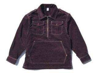 COMFORTABLE REASON [コンフォータブル リーズン] Corduroy PO Shirts Jacket/PURPLE