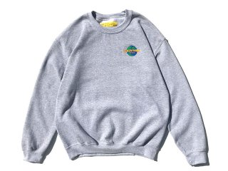 SUNDAYS BEST [サンデイズ ベスト] THE JURASSIC CREW NECK SWEAT/H.GREY