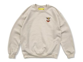 SUNDAYS BEST [サンデイズ ベスト] BEST AMIGOS CREW NECK SWEAT/SAND