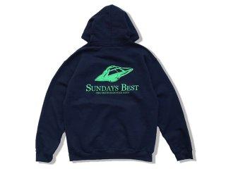 SUNDAYS BEST [サンデイズ ベスト] P.O.S. PULLOVER HOODY/NAVY