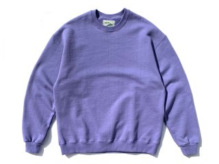 SUNDAYS BEST [サンデイズ ベスト] CREW NECK SWEAT/FADE PURPLE