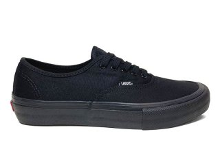 VANS [バンズ] AUTHENTIC PRO/BLACK-BLACK