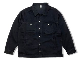 COMFORTABLE REASON [コンフォータブル リーズン] Black Denim Jacket