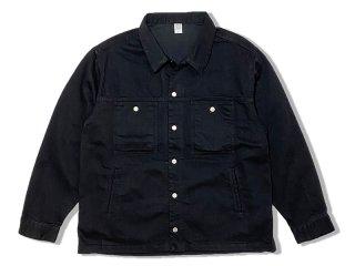COMFORTABLE REASON [コンフォータブル リーズン] Black Denim Jacket