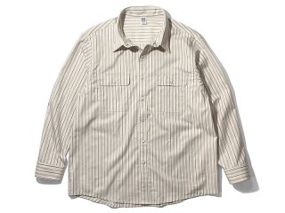 COMFORTABLE REASON [コンフォータブル リーズン] Yard Man L/S Shirts/IVORY