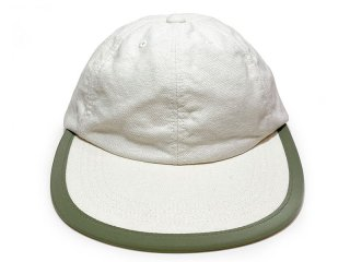COMFORTABLE REASON [コンフォータブル リーズン] Linen Leisure Cap/OFF WHITE