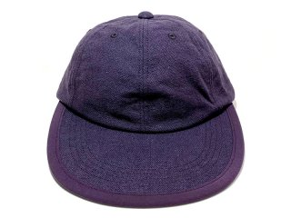 COMFORTABLE REASON [コンフォータブル リーズン] Linen Leisure Cap/PURPLE