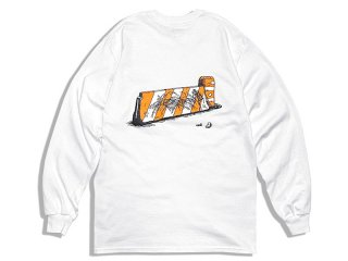 JHAKX [ジャークス] E Huston St L/S Tee/WHITE