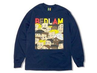 BEDLAM [べドラム] GIMMICKS CITY PLAY L/S TEE