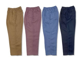 COMFORTABLE REASON [コンフォータブル リーズン] Linen Daily Slacks