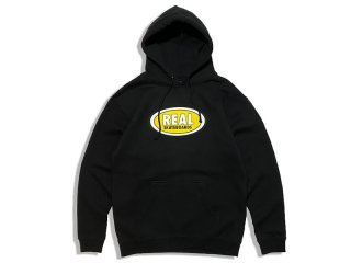 REAL SKATEBOARDS [リアル・スケートボード] OVAL LOGO HOODY