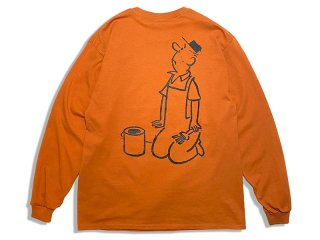 BROWNBAG [ブラウンバッグ] WORKER LONG SLEEVE TEE
