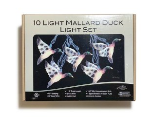 STRING LIGHTS [パーティーライト] Mallard Duck String Lights