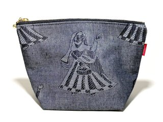 BEDLAM [べドラム] GIMMICKS INDIAN LADY POUCH