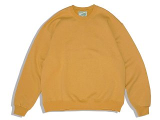 SUNDAYS BEST [サンデイズ ベスト] CREW NECK SWEAT/CORN YELLOW