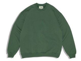 SUNDAYS BEST [サンデイズ ベスト] CREW NECK SWEAT/SAGUARO GREEN