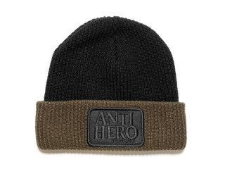 ANTI HERO SKATEBOARDS [アンタイヒーロー] RESERVE PATCH BEANIE