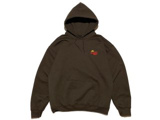 SUNDAYS BEST [サンデイズ ベスト] SUNTACO EMBROIDERY PULLOVER HOODY/D.BROWN