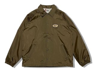 RESTAURANT [レストラン] EL BURRITOS SKATE AMIGOS COACHES JACKET/BROWN