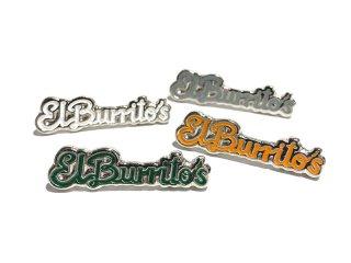 RESTAURANT [レストラン] EL BURRITOS SKATE AMIGOS ENAMEL PIN