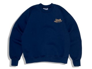 SUNDAYS BEST [サンデイズ ベスト] NATIONAL PARK SOUVENIR CREW NECK SWEAT/NAVY