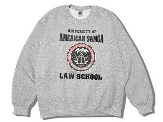 BETTER CALL SAUL [ベター・コール・ソウル] UNIVERSITY OF AMERICAN SAMOA LAW SCHOOL CREW NECK SWEAT