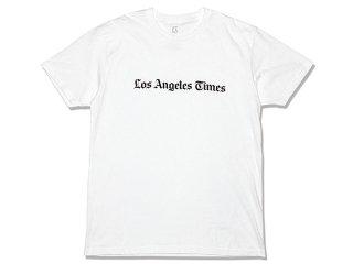 LOS ANGELES TIMES [ロサンゼルス・タイムズ]  MASTHEAD LOGO TEE