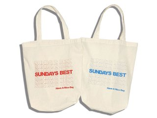 SUNDAYS BEST [サンデイズ ベスト] HAVE A NICE DAY BAG/RED