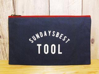 SUNDAYS BEST [サンデイズ ベスト] TOOL BAG/NAVYxCREEM