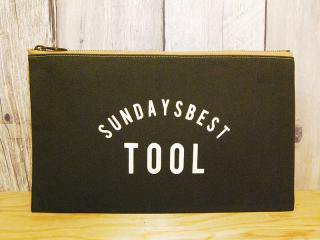 SUNDAYS BEST [サンデイズ ベスト] TOOL BAG/OLIVE-CREEM