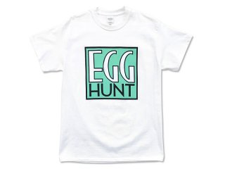 DISCHORD RECORDS [ディスコード レコード] EGG HUNT TEE/WHITE