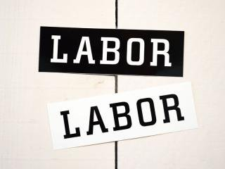 LABOR [レイバー] LABOR LOGO STICKER