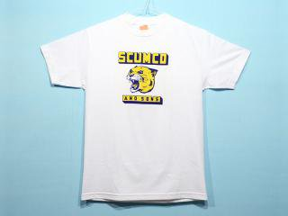 SCUMCO&SONS [スカムコアンドサンズ] ONE UP PGH PANTHER TEE/WHITE