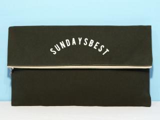 SUNDAYS BEST [サンデイズ ベスト] CLUTCH BAG/OLIVExCREEM