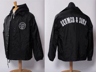 SCUMCO&SONS [スカムコアンドサンズ] WINDBREAKERS COACH JACKET/BLACK