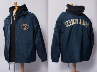 SCUMCO&SONS [スカムコアンドサンズ] WINDBREAKERS COACH JACKET/NAVY