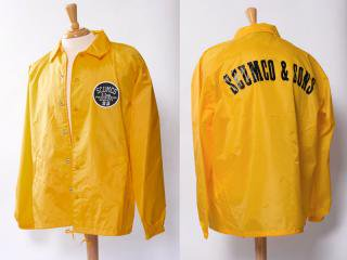 SCUMCO&SONS [スカムコアンドサンズ] WINDBREAKERS COACH JACKET/YELLOW