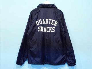 QUARTER SNACKS [クウォータースナックス]  COACH JACKET/NAVY