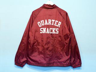QUARTER SNACKS [クウォータースナックス]  COACH JACKET/BURGUNDY