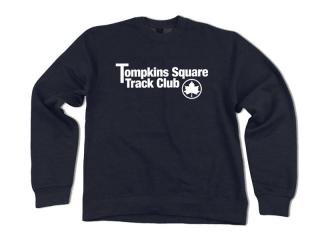QUARTER SNACKS [クウォータースナックス]  TRACK CLUB CREWNECK SWEATSHIRT