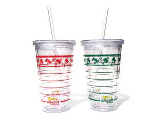 IN-N-OUT BURGER [インアンドアウト バーガー] CLEAR CUP