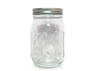 Ball Mason Jar [ボール メイソンジャー] Regular Mouth Jar 16oz