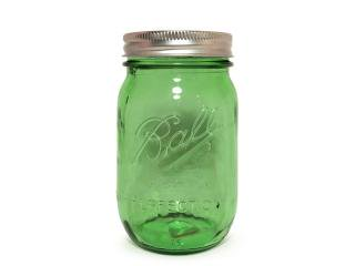 Ball Mason Jar [ボール メイソンジャー] 100th Anv. Heritage Collection Regular Mouth Jar 16oz /Green