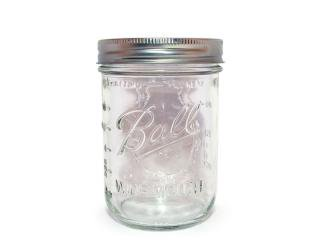 Ball Mason Jar [ボール メイソンジャー] Wide Mouth Jar 16oz